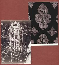 Erwin Blumenfeld, Rouen Cathedral, France, (1936), 2 photo cards, q 1939