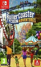 Rollercoaster Tycoon Adventures (Switch)  BRAND NEW AND SEALED - IMPORT