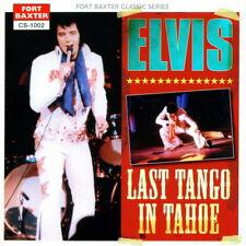 Elvis Presley - LAST TANGO IN TAHOE - CD - New Original Mint - FORT BAXTER