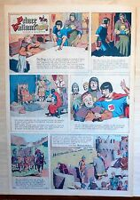Prince Valiant by Hal Foster - full page color Sunday comic - May 17, 1964