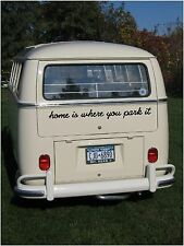 Motorhome Caravan Campervan Van Hippy Boho Vehicle Decal Graphic Sticker Om Park