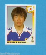 KOREA/JAPAN 2002-PANINI-Figurina n.545- NISHIZAWA -GIAPPONE-NEW BLUE BACK
