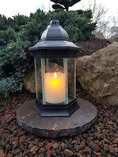 Grablaterne Grablampe Grableuchte Licht Grablicht Kerzen Engel Grabstein Deko