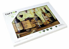 Wines Glass Kitchen Worktop Saver Protector Chopping Board Trivet Cheese Serving