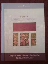 When I'm Longing for God (2004, Hardcover) Devotional Journal