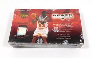 1998-99 Upper Deck Black Diamond Basketball Hobby Box Sealed (30 Packs)
