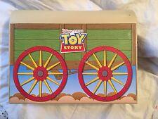 Disney Pixar Toy Story Andy's Room Sid Fold Up Wagon Portable Playset
