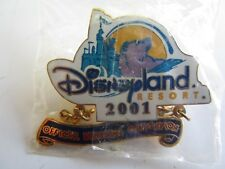 Pin 6620 Official Disneyana Convention - Dlr 2001 Logo Dangle Disney