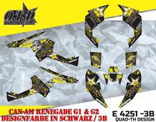 MOTOSTYLE DEKOR KIT ATV CAN-AM RENEGADE G1 & G2 GRAPHIC KIT E4251 B