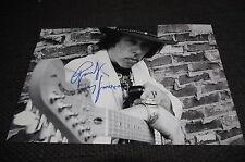 RANDY HANSEN signed Autogramm auf 20x30 cm Foto JIMI HENDRIX InPerson LOOK