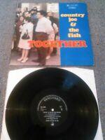COUNTRY JOE & THE FISH - TOGETHER LP / UK 1ST PRESS VANGUARD SVRL 19006