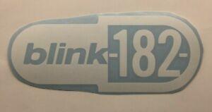 Blink 182 Band Logo Die Cut Vinyl Sticker Classic Hard Rock and Roll Metal Punk