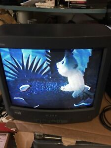 """SONY, TRINITRON, KV-13M52, 13"""" GAMING COLOR TV, TESTED, USED"""