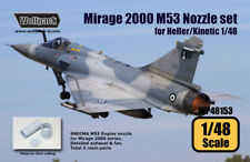 Wolfpack WP48153, Mirage 2000 SNECMA M53 Nozzle set (for Heller/Kinet,SCALE 1/48