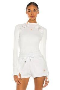 Adidas by Stella McCartney Truepur Long Sleeve Top: Size XS: White (149)