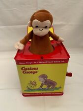 Schylling Classic Curious George Musical Jack in the Box Toy