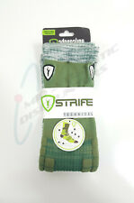 Adrenaline Strife Lacrosse Socks Lg/Xl 9-12 Forest Green/White So-Strife-00-Fgwh