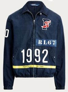 XXL Ralph Lauren Polo Stadium 1992 Jacket Limited Edition Indigo Pwing New!