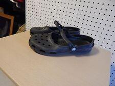 Womens crocs shoes - black - size 10