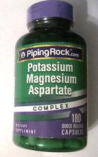 Potassium Magnesium Aspartate Complex 180 Capsules Pills