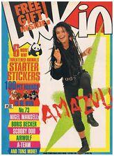 LOOK-IN No.42 1988: JUNIOR TV TIMES: AMAZULU, NIGEL MANSELL, BORIS BECKER