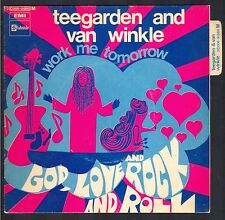 TEEGARDEN AND VAN WINKLE GOD LOVE AND ROCK TRES RARE 45T SP AMERICAN GROUP 70