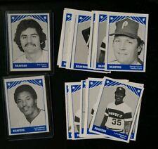 1983 TCMA Portland Beavers Minor League Set w/ Late Issue (Juan Samuel, Garcia)