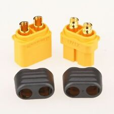 10 Pairs x Amass XT60 Plug Connector (Male+Female) With Sheath Housing