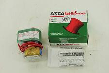 ASCO RED HAT 8262-B208 SOLENOID VALVE NEW
