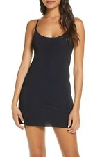 Commando Black Mini Cami Slip Women's Size M/L 70203