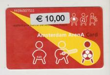 Amsterdam Arena Card 2001 Applaud your stars at the Amsterdam ArenA AA1860077511