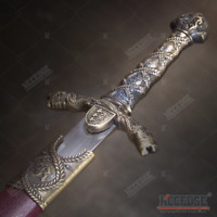 "15.5"" Sir Lancelot Medieval Dagger Stainless Steel Blade Fixed Blade Dagger"