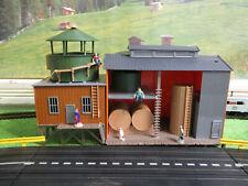 NMINT VINTAGE Life Like Warehouse Slot Car Train Track Set Building