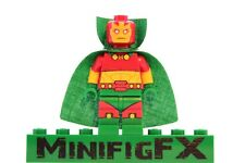 Lego MISTER MIRACLE Custom Minifig DC Super Hero Justice League Scott Free Mr.