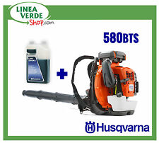 Souffleur d'épaule HUSQVARNA 580BTS + l'huile - Souffleur à dos PROFESSIONEL