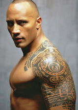 The Rock Dwayne Johnson Tattoo POSTER