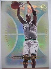 2001-02 SP AUTHENTIC SPECIAL FORCES KEVIN GARNETT !! BOX 1