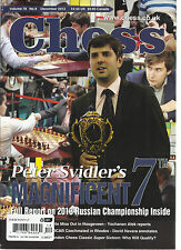 CHESS MONTHLY, DECEMBER, 2013  ( FULL REPORT ON 2013 RUSSIAN CHAMPIONSHIP INSIDE