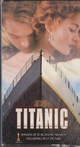 Titanic (VHS, 1998, 2-Tape Set,) Leonardo DeCaprio, Kate Winslet.....New!!!!!!
