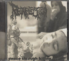 REINFECTION - peace through killing CD