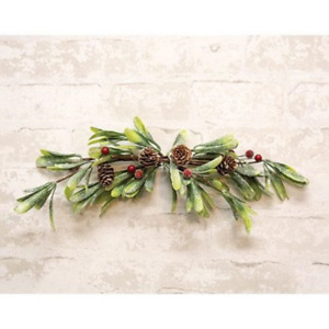"Merry Mistletoe Faux Botanical 16"" W Swag"