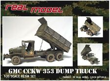 1/35th Real Model US GMC CCKW 353 Dump truck