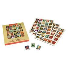 Vintage Retro Fridge Magnets Letters Alphabet Kids Shabby Chic Paul Thulby