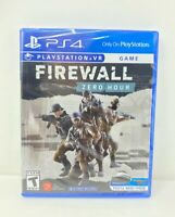 SONY PLAYSTATION 4 Firewall: Zero Hour VR GAME- PS4 - *NEW SEALED FREE SHIPPING*