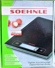 Soehnle 67080 Digitale Küchenwaage Page Profi, bis 15kg, NEU + OVP