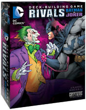 DC Comics Deck Building Game: rivales-Batman Vs. el Guasón (nuevo)