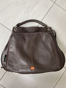 Pacapod Baby Changing Bag - Phoenix - Brown Leather