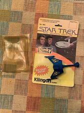 VINTAGE STAR TREK DINKY TOY KLINGON CRUISER NO 804 1979  w/box diecast metal