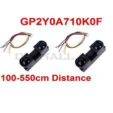 2pcs Sharp GP2Y0A710K0F IR Infrared Distance Measure Proximity Sensor 100 -550cm