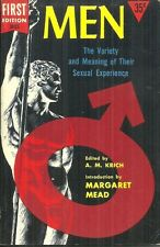 MEN - THE VARIETY & MEANING OF THEIR SEXUAL EXPERIENCE editor A M KRICH